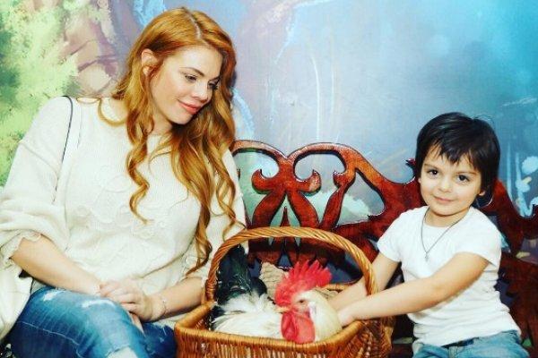 Семья и дети Анастасии Стоцкой фото