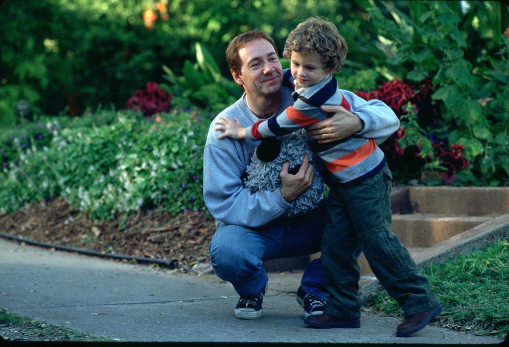 Семья и дети Кевина Спейси фото