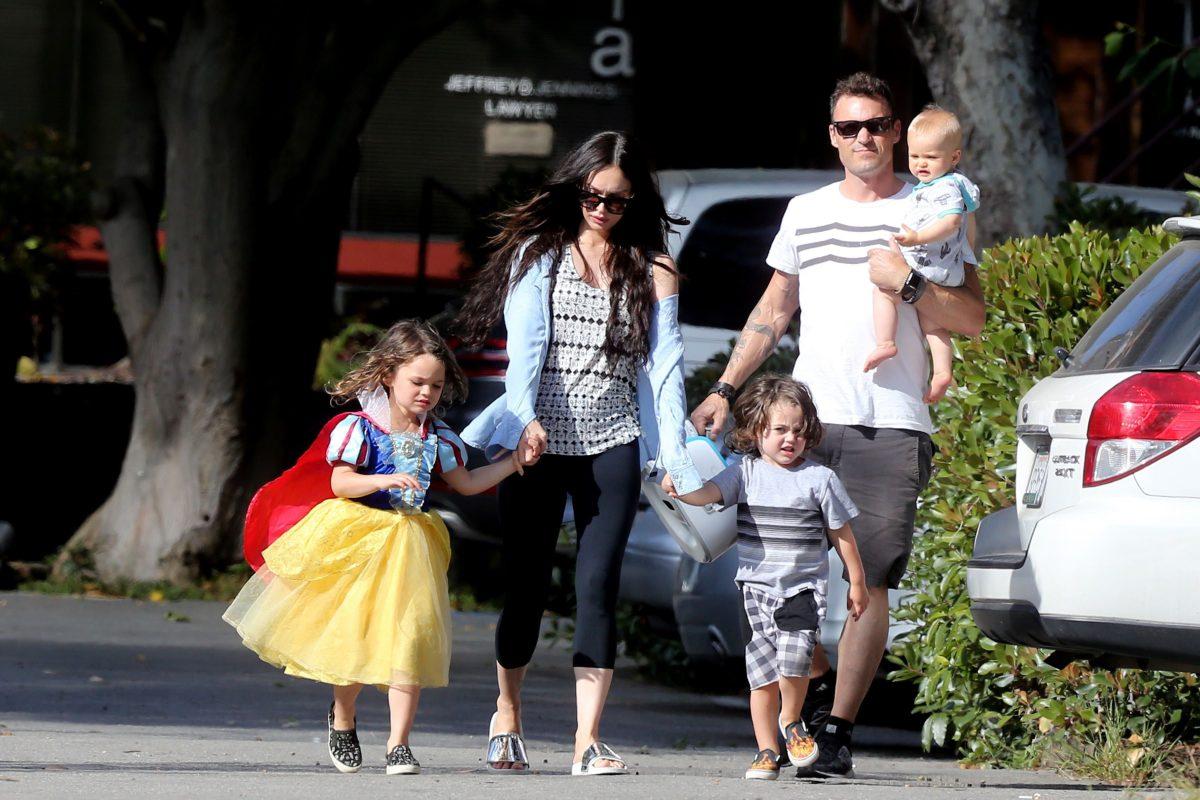 Семья и дети Меган Фокс фото