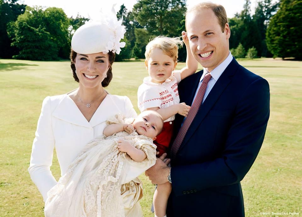 Семья и дети Принца Уильяма фото