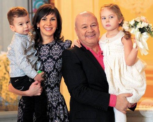 Семья и дети Сергея Селина фото