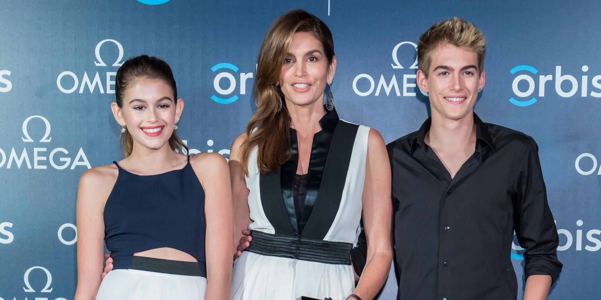Семья и дети Синди Кроуфорд фото