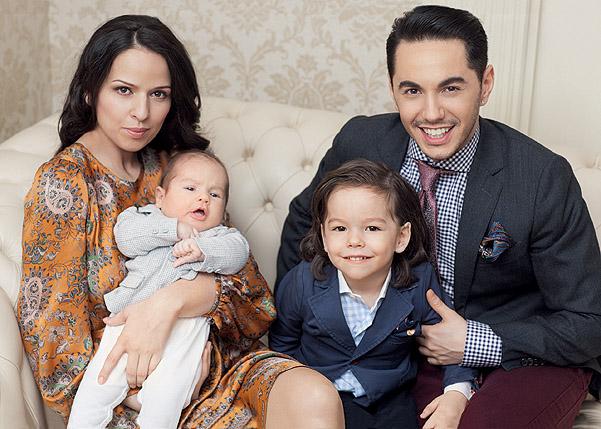 Семья и дети Тимура Родригеза фото