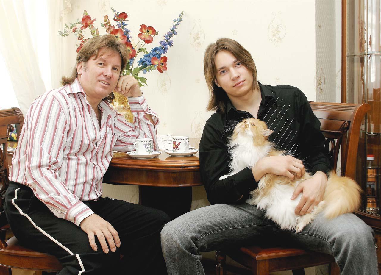 Семья и дети Юрия Лозы фото