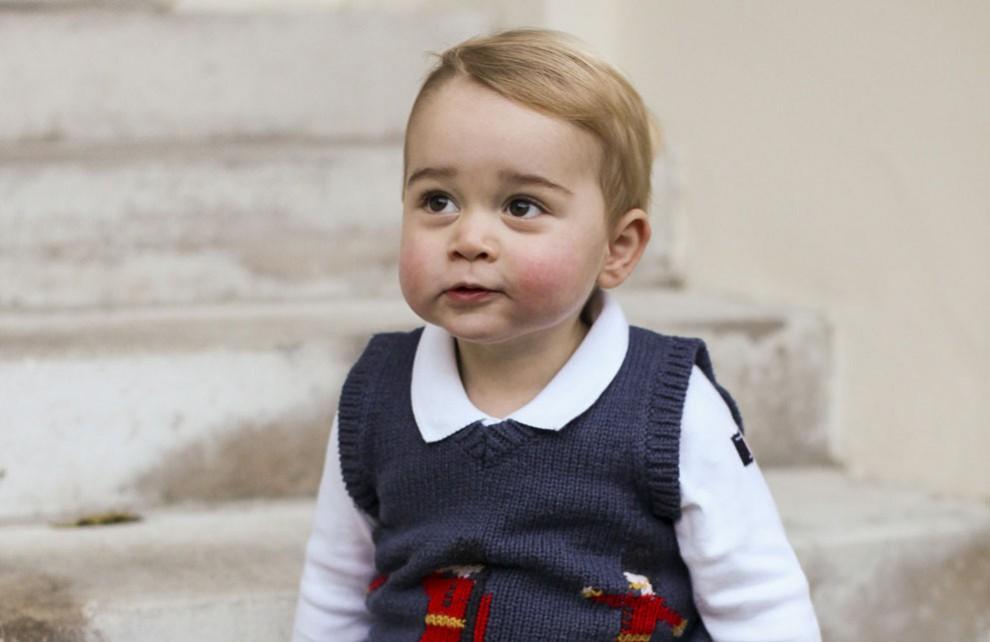 Сын Принца Уильяма – Принц Джордж Кембриджский фото