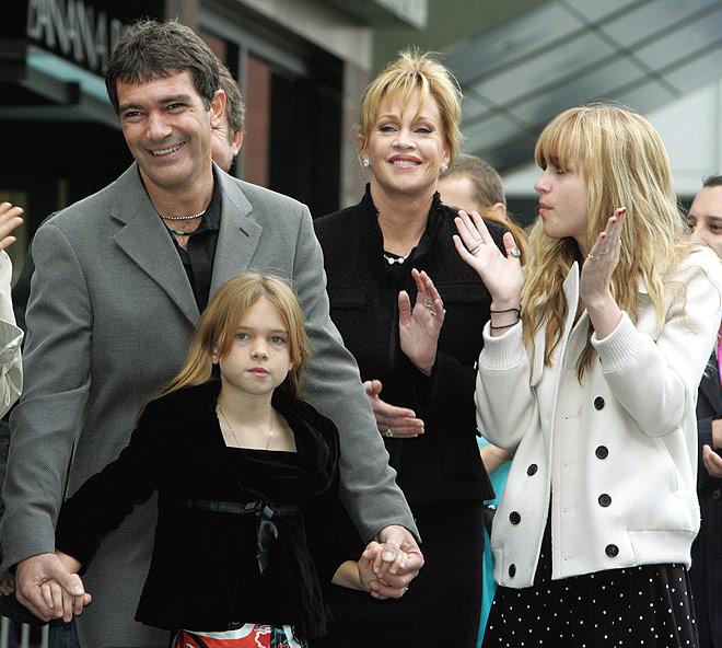 Семья и дети Антонио Бандераса фото