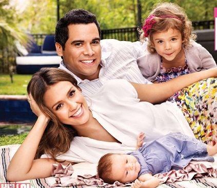 Семья и дети Джессики Альба фото