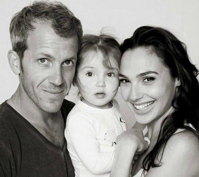 Семья и дети Галь Гадот фото