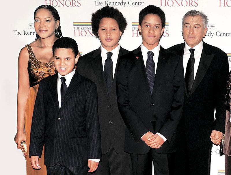 Семья и дети Роберта Де Ниро фото