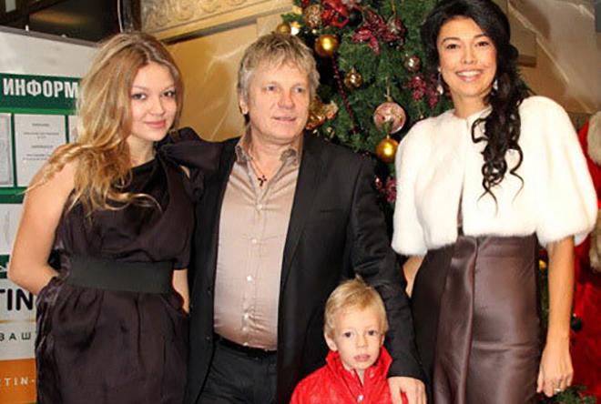 Семья и дети Виктора Салтыкова фото