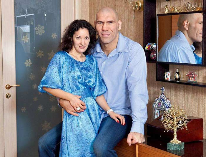 Жена Николая Валуева – Галина Валуева фото