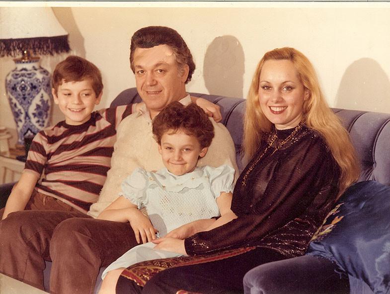 Семья и дети Иосифа Кобзона фото