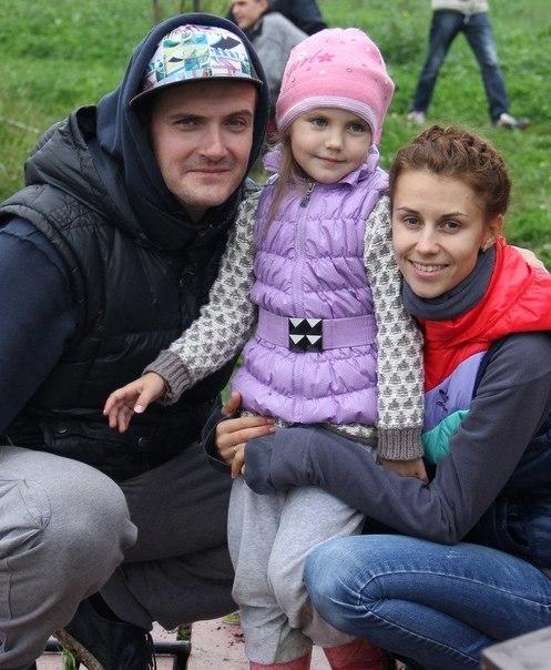 Андрей Аверин и его жена