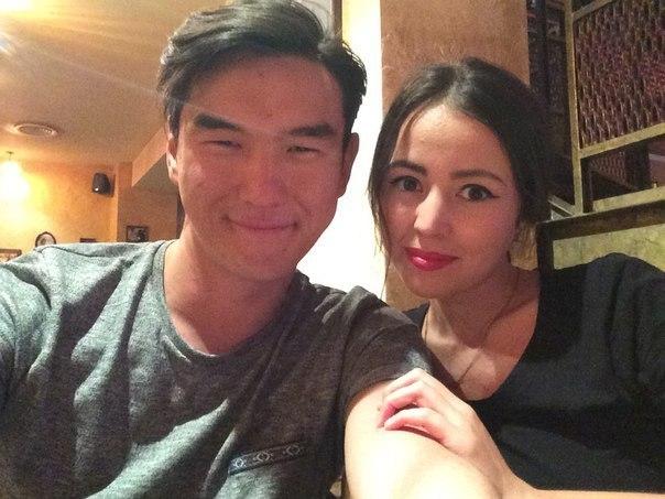 Нурлан Сабуров и его жена