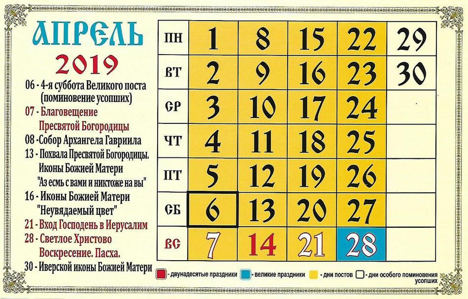 Апрельские приметы по церковному календарю фото
