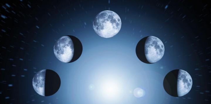 Как будут меняться фазы Луны в июне фото