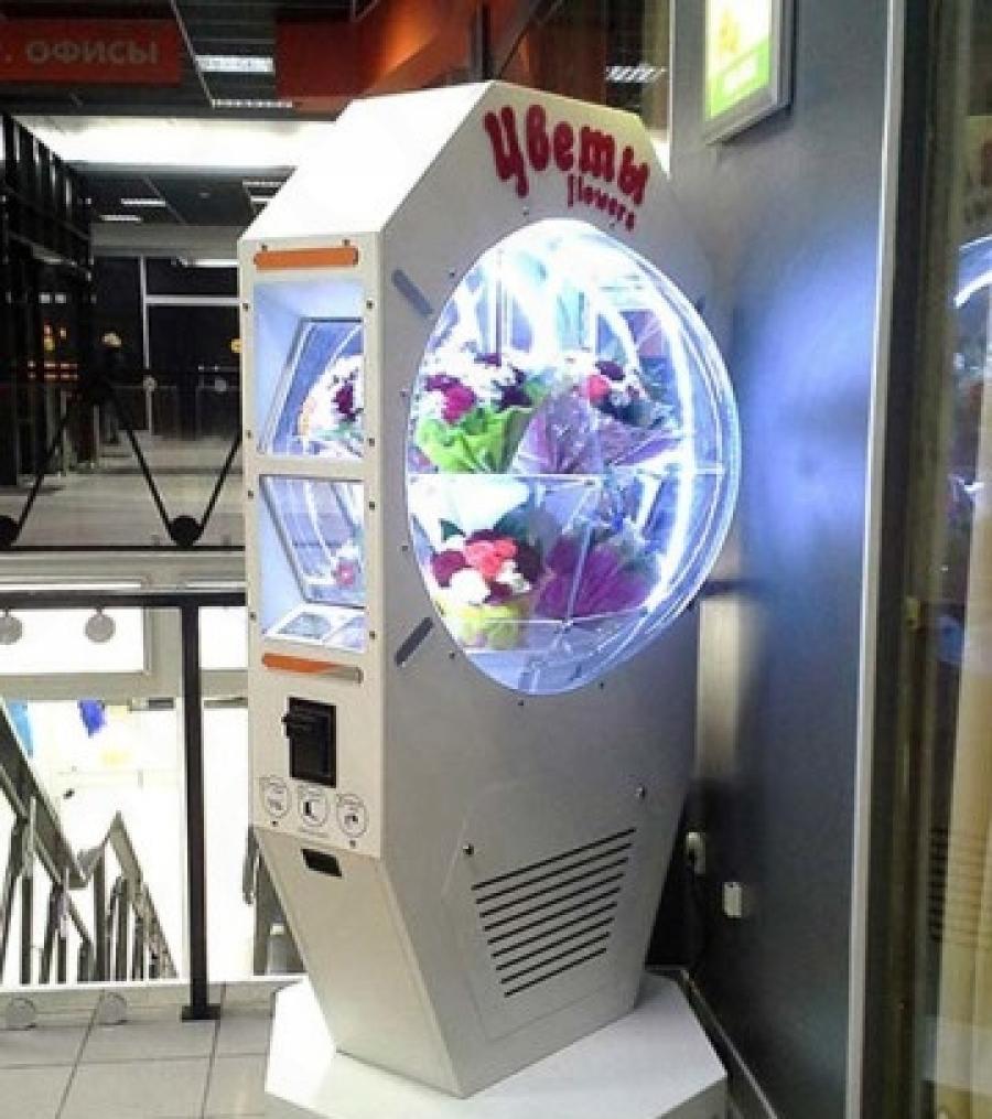 Цветочный автомат фото