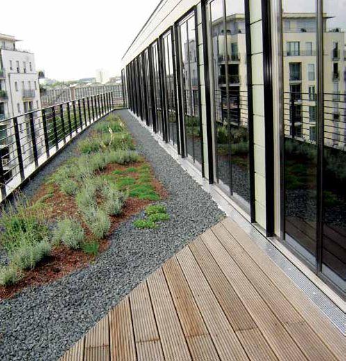 Внутренний водоотвод с террас и балконов