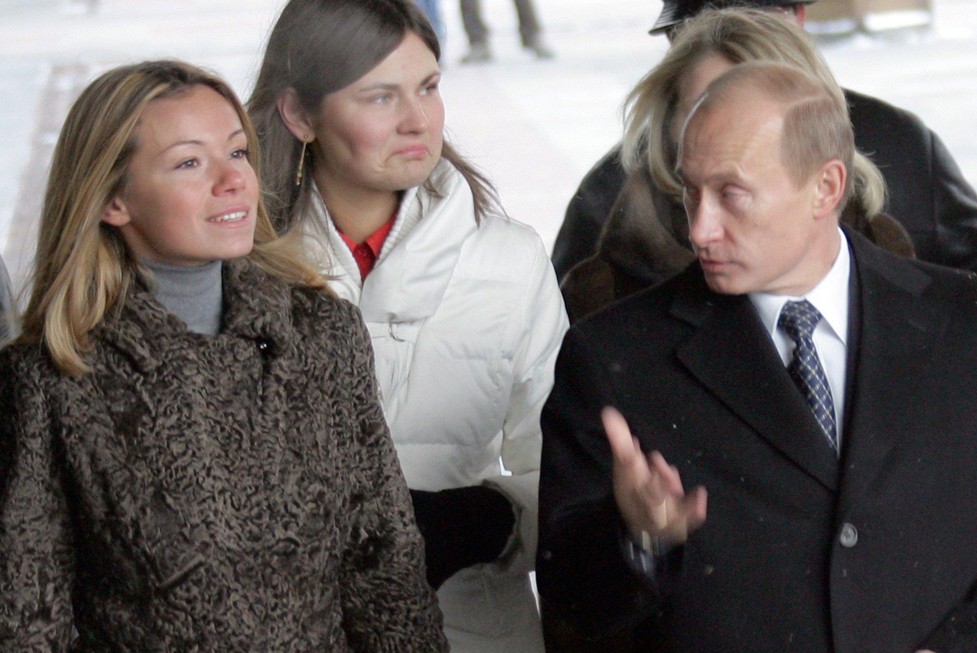 Все фотографии Марии и Екатерины | Дочери Путина ...