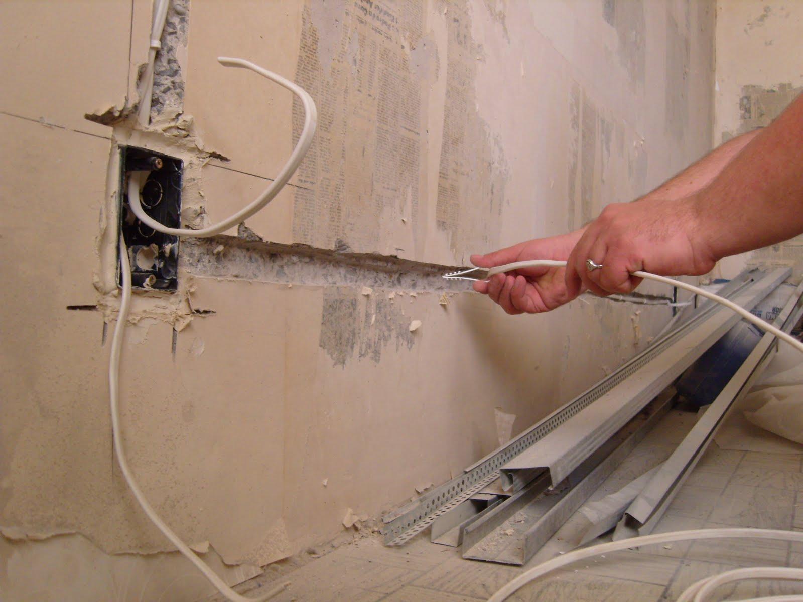 Нужноли демонтировать старые провода