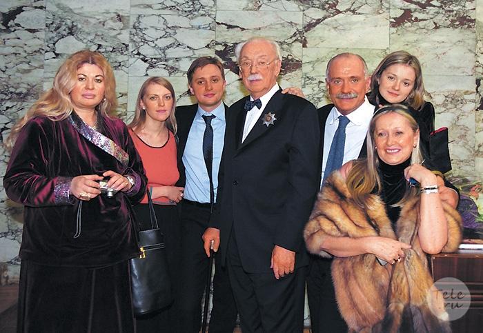 семья михалкова никиты фото
