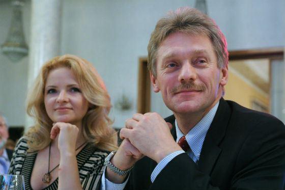 Семья Дмитрия Пескова фото