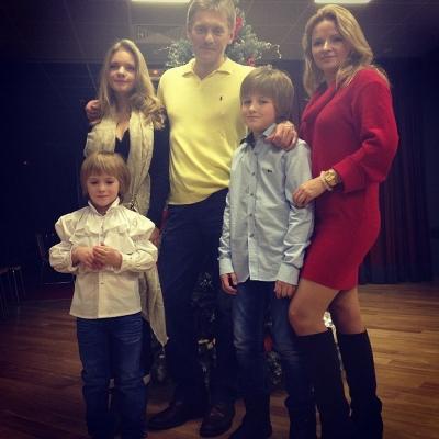 Дети Дмитрия Пескова фото