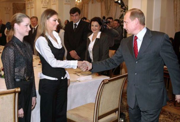 Свадьба Путина и Кабаевой 15 июня 2013 фото