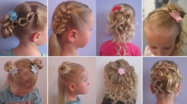 Прически на 1 сентября на средние волосы 2 класс