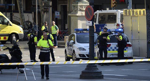 Последние новости: теракт в Барселоне - смотреть видео
