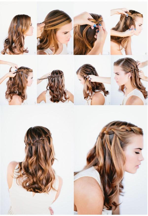 Причёски на 1 сентября на длинные волосы 6 класс поэтапно