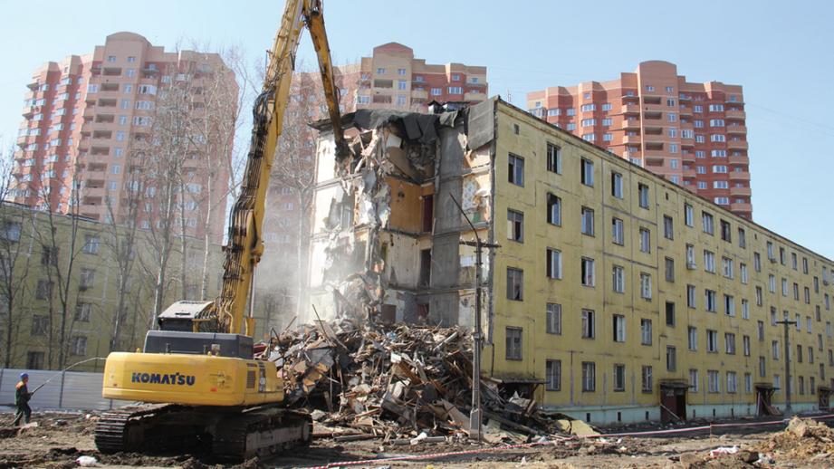График сноса пятиэтажек по программе реновации на 2019