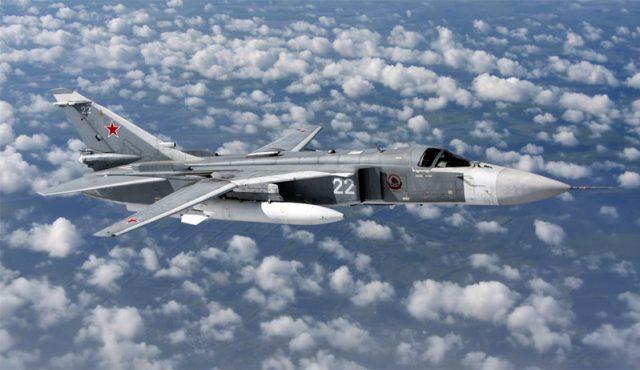 Разбился российский самолет в Сирии Су-24. Фото и видео с места крушения