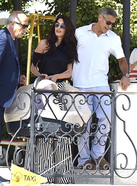 Дочь Джорджа Клуни – Элла Клуни фото
