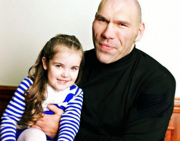 Дочь Николая Валуева – Ирина Валуева фото