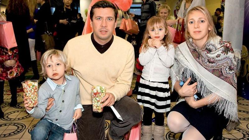 Семья и дети Андрея Мерзликина фото
