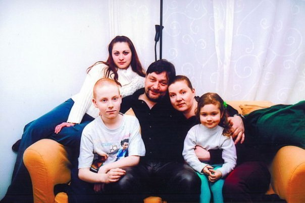 Семья и дети Дмитрия Назарова фото