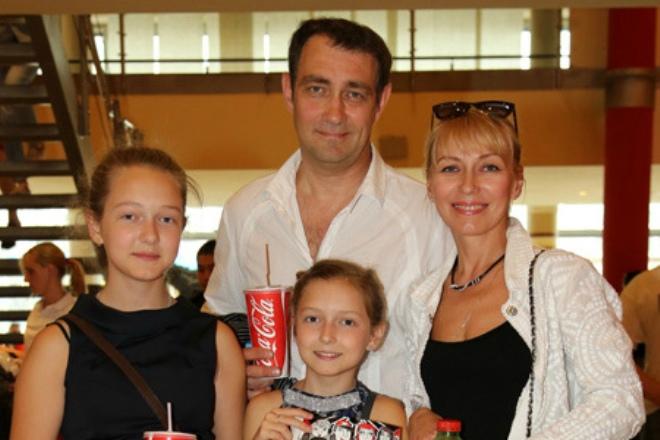 Семья и дети Константина Юшкевича фото
