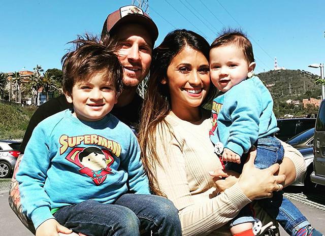 Семья и дети Лионеля Месси фото