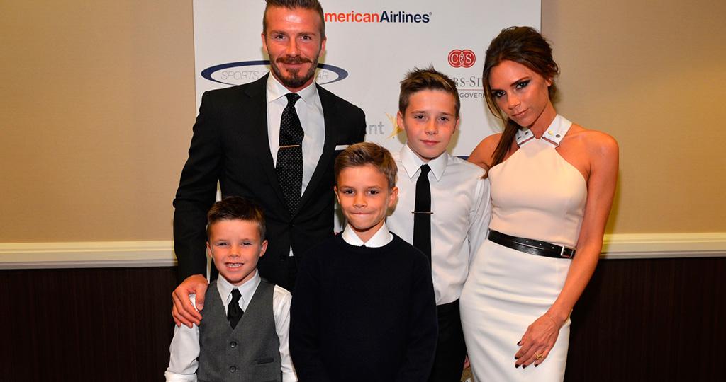 Семья и дети Виктории Бекхэм фото