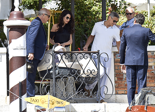 Сын Джорджа Клуни – Александр Клуни фото