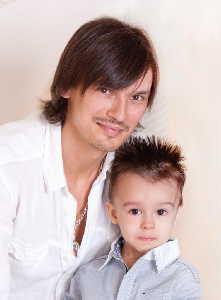 Сын Влада Сташевского – Тимофей фото