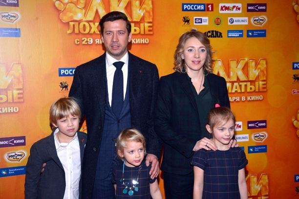 Сыновья Андрея Мерзликина – Фёдор и Макар фото