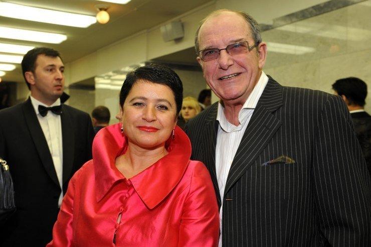 Жена Эммануила Виторгана - Ирина Млодик фото