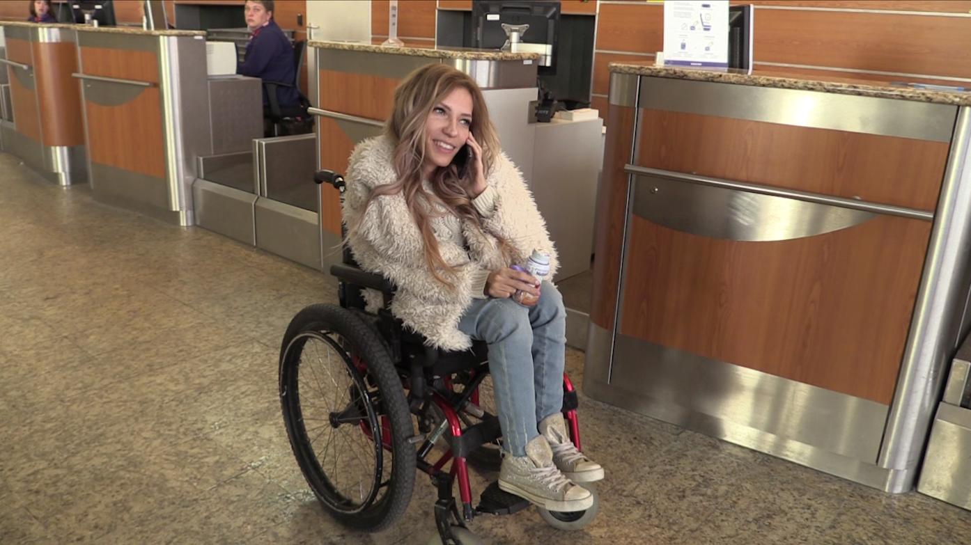 Болезнь Юлии Самойловой – почему она в кресле фото