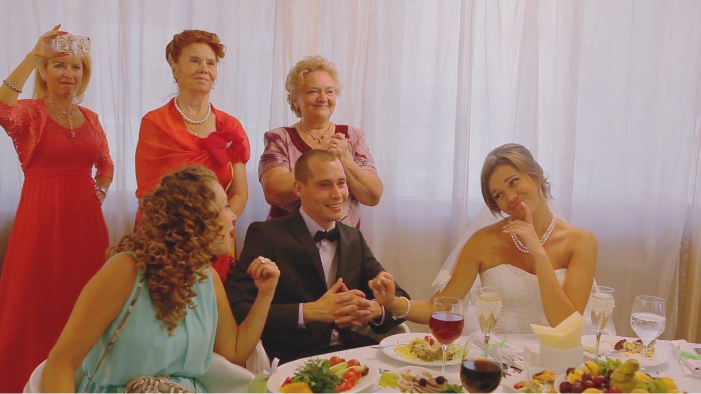 Ютуб поздравления с днем свадьбы от родителей невесты