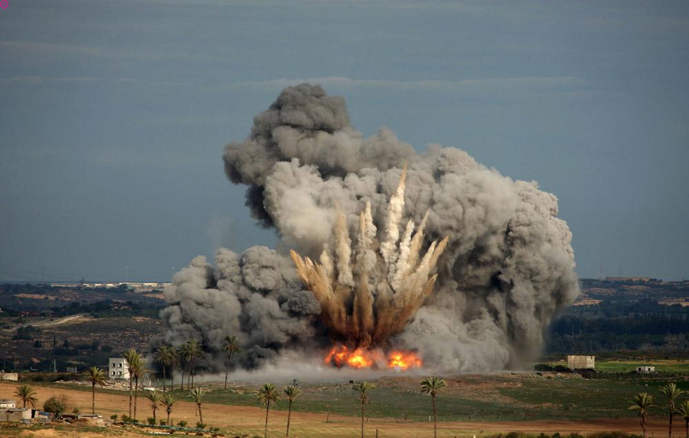 Война в Сирии США сегодня нанесли удар множеством ракет фото