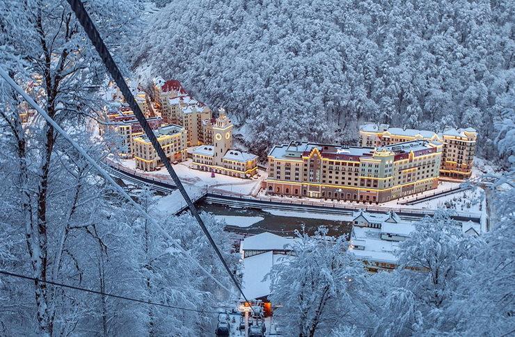 """Путин одобрил увеличение курорта """"Роза Хутор"""": """"если вы хотите сказать"""""""