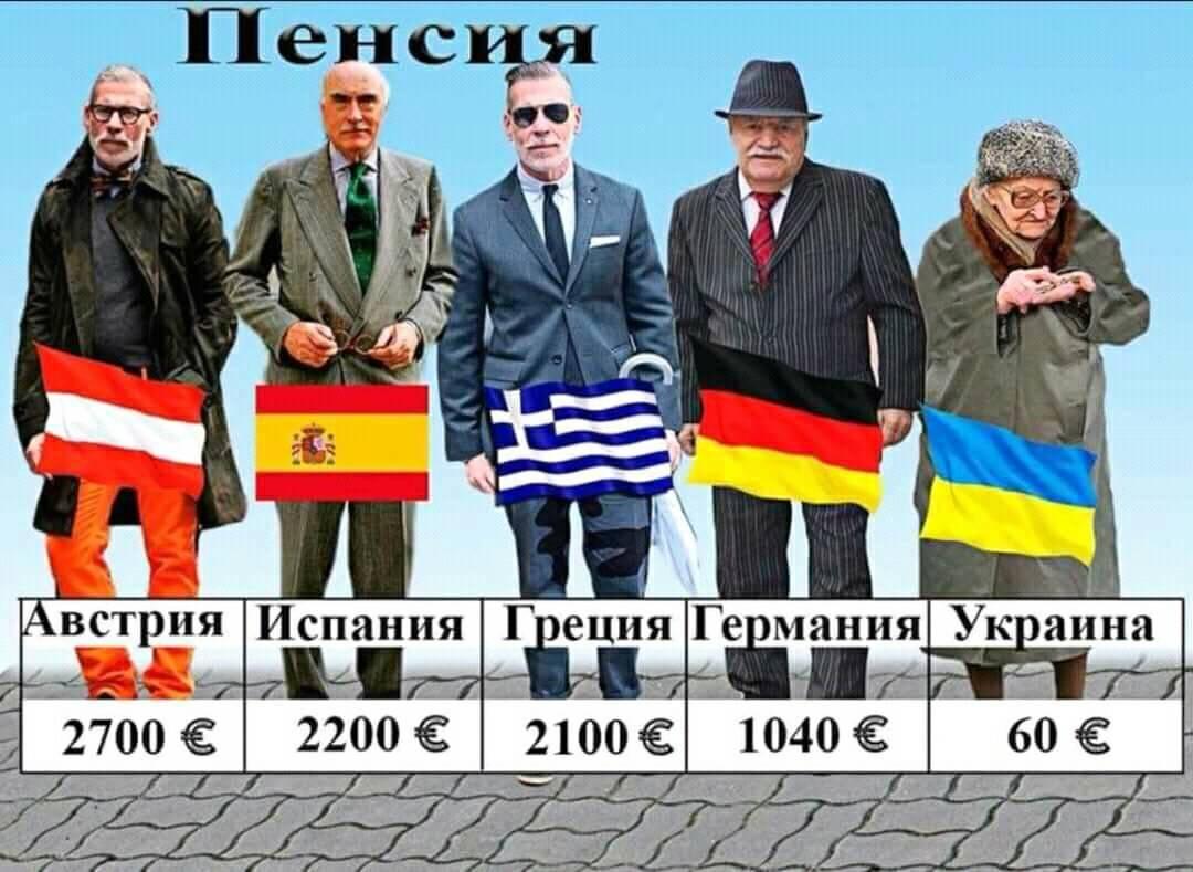 Какие отличия между пенсией в Германии и других странах мира фото