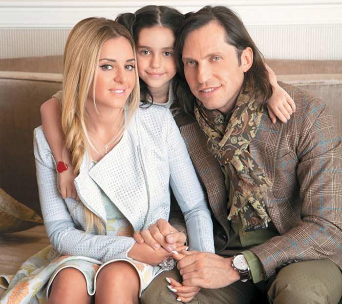 Александр Ревва и его жена